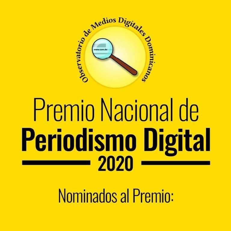 Observatorio Medios Digitales anuncia nominados al Premio de Periodismo Digital