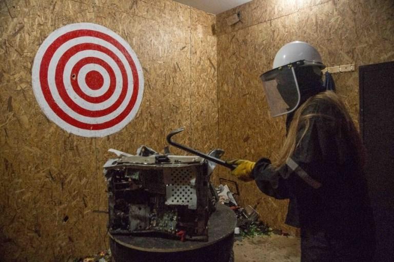 Terapia contra la pandemia: Salas para romper todo lo que quieras