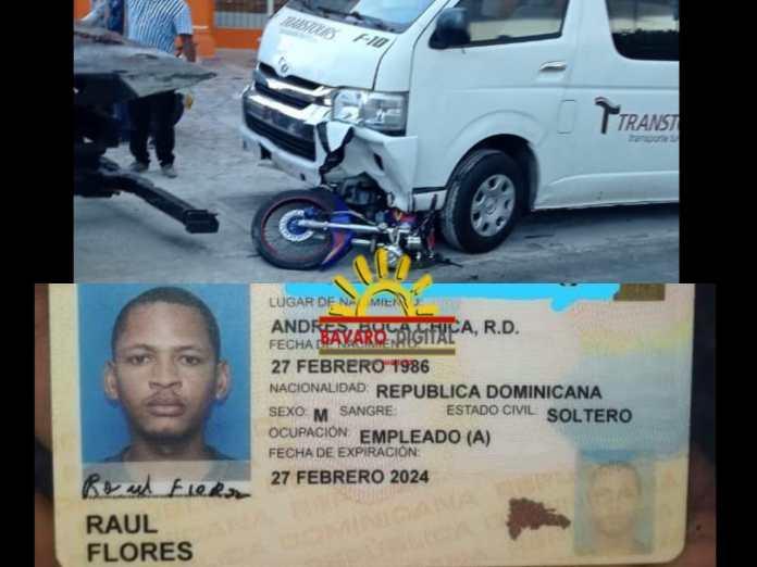 Accidente en carretera Verón-Punta Cana deja un muerto y un herido