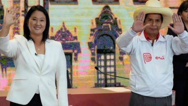 Keiko Fujimori lidera por un punto recuento del 88.8% de votos en Perú