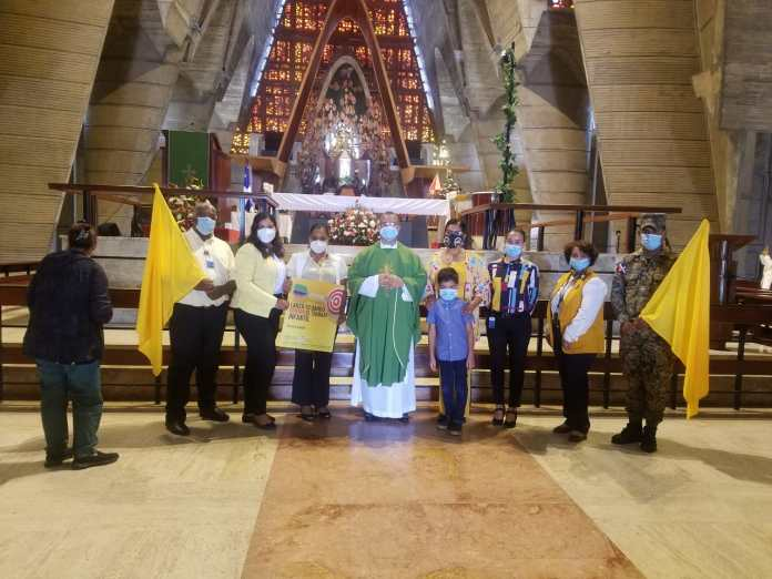 Ministerio de Trabajo se une a la lucha contra el Trabajo Infantil en Higüey y participa en misa