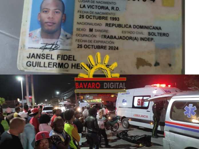 (VIDEO): Muere joven en Verón tras ser atropellado por motorista calibrando