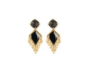 Corfu Earrings Quartz