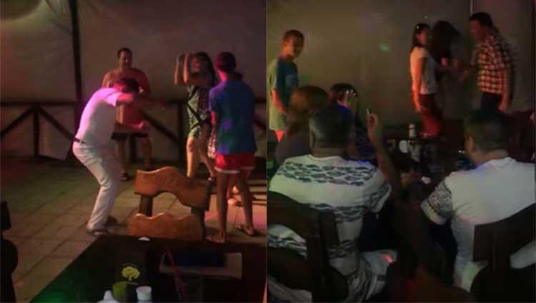 Հարբած ադրբեջանցիները պարում հայկական երաժշտության ներքո․ երգի բառերը լսել է պետք (Տեսանյութ)