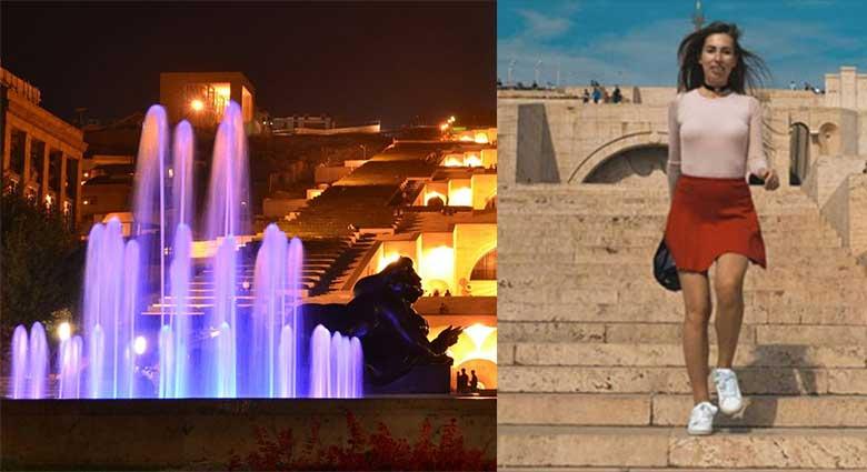 Ռուս աղջիկը հիացած է Հայաստանով և մի գեղեցիկ տեսանյութ է պատրաստել, որտեղ Հայաստանն ասես դրախտ լինի