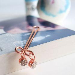 Hidden Treasures Bawdy Bookworms Box-Crystal Clip