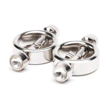 Metal Worx Magnetic Crystal Tip Nipple Clamps