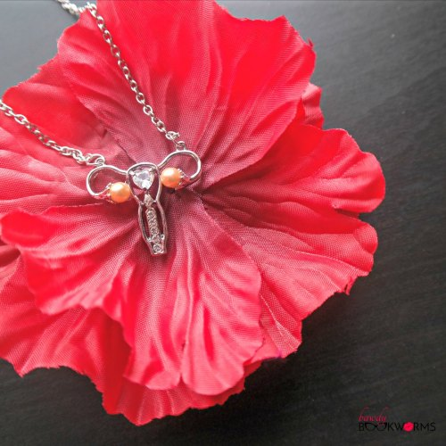 Ova Achievers Uterus Necklace Silvertone