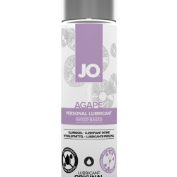 System Jo Original Agape Water-Based Lubricant 4 oz