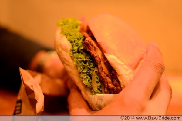 Sweet Bambi burger at Ferg's
