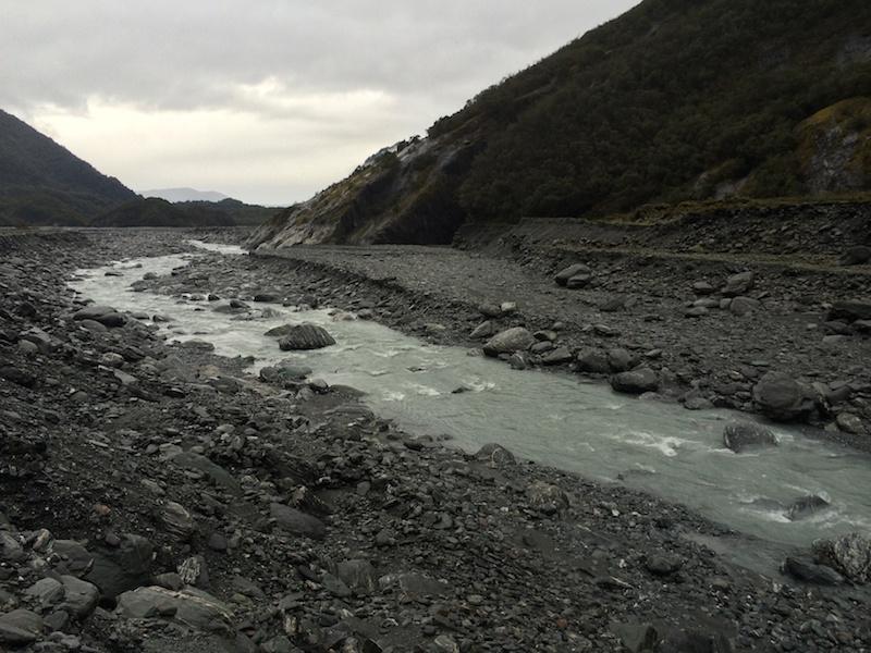 Waiho Riverbed_Franz Josef