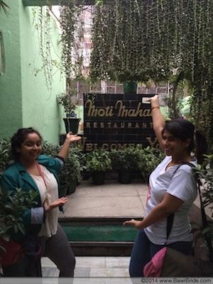 Moti Mahal_end of food walk in Purani Dilli