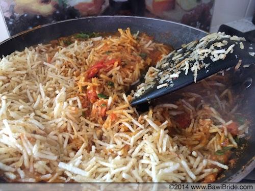 Add sali and mix for Sali per Eedu