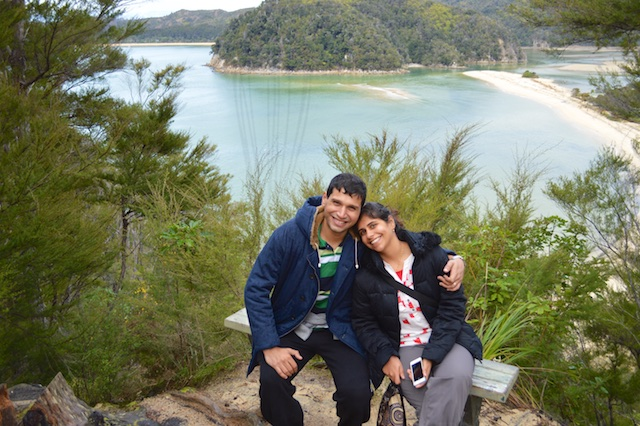 Halfway Point on Abel Tasman trek