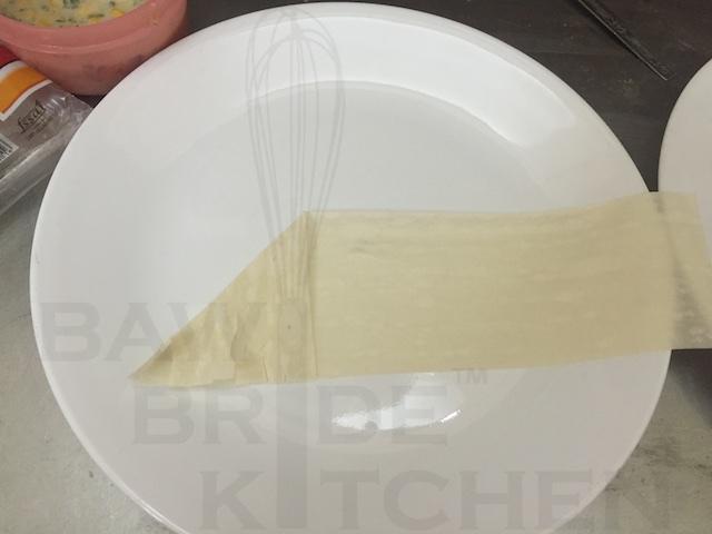 Folding Cream Corn Samosa Patti