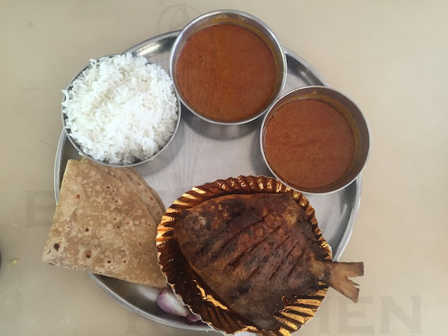 Seafood Thali_Alibaug