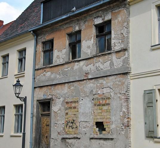 Eine neue Fassade aus alt mach neu