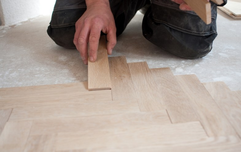 Holzfussboden ist haltbar