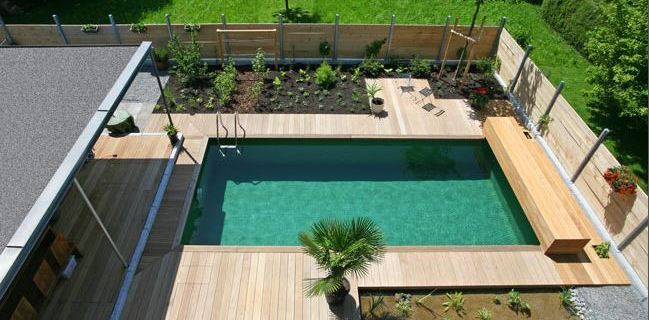 Die besten Beispiele für einen gelungenen Schwimmteich