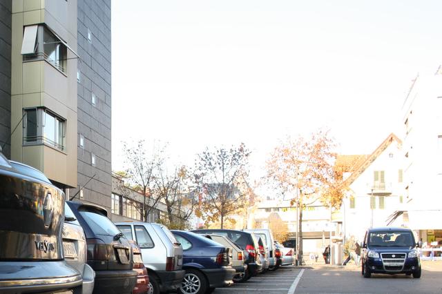 Stockwerkeigentum Parkplatz