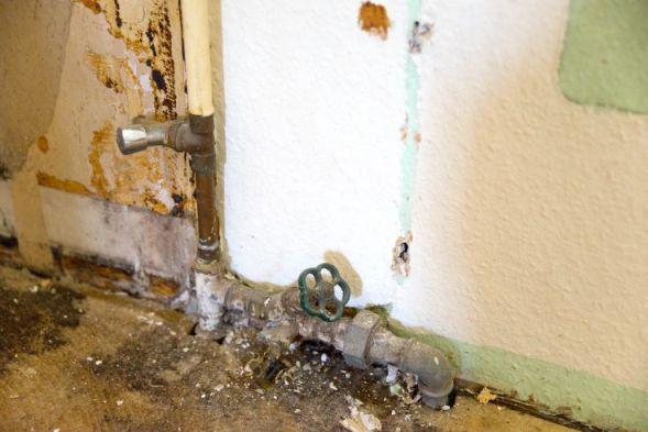 Sanierung Wasserleitungen