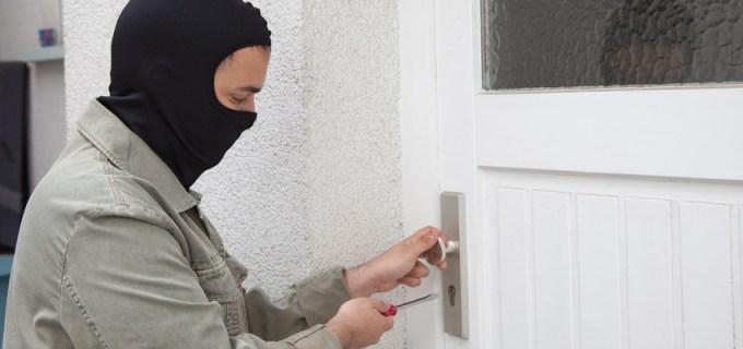 Sicherheitsschloss für die Haustür