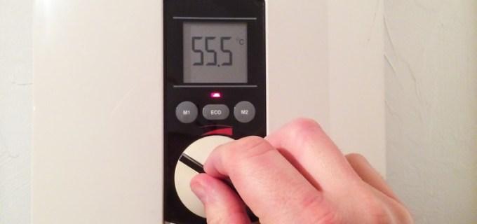 Durchlauferhitzer zur Warmwasserbereitung