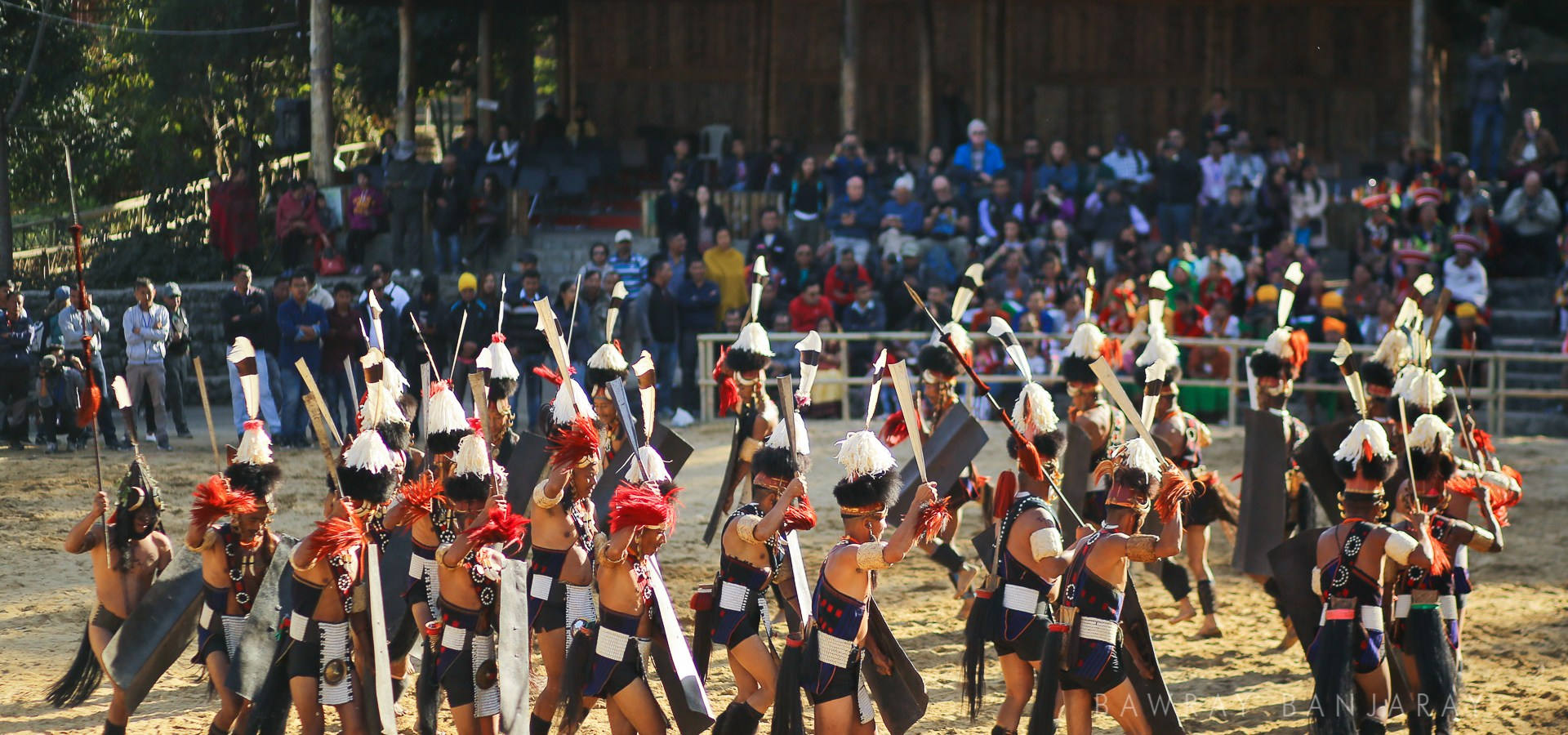 Experiencing the vibrant colors at Hornbill is among the best things to do in Nagaland