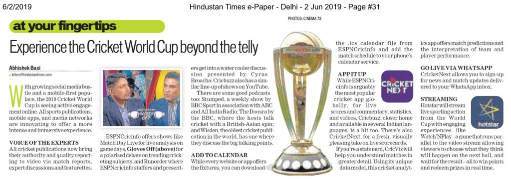Hindustan Times - Abhishek Baxi