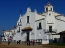 Church of El Rocio, the home of the famous El Roció Virgin