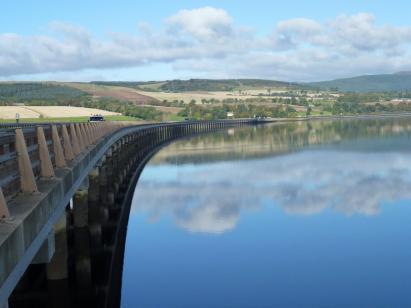 Bridge over Cromarty Firth