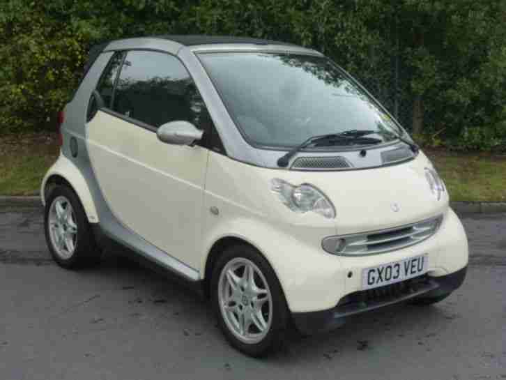 Smart Car Fortwo Passion 2002 Full Service History Low Miles