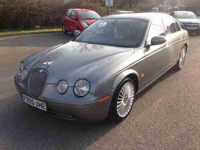 Jaguar 2005 S Type V6 Sport Diesel Grey Automatic Car For Sale