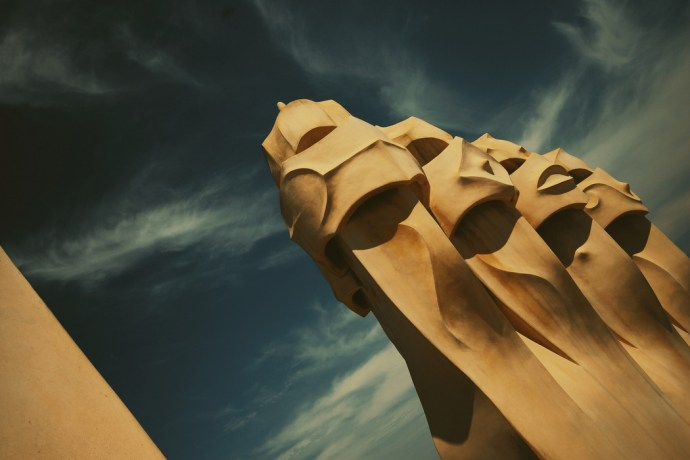 Casa Mila (La Pedrera) - Barselona - Antoni Gaudi Fotoğraf : Oylum Yüksel
