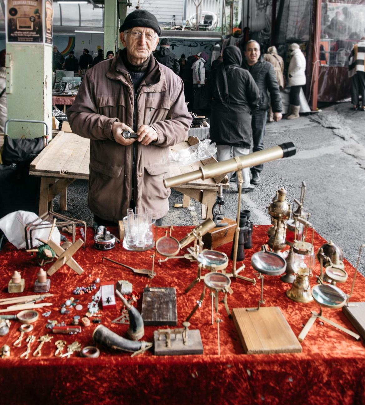 Feriköy Antika Pazarı, Sevcan Göktürk