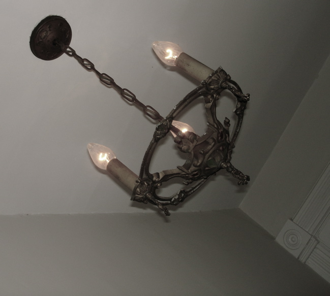 Art Nouveau Light with Faded Chromatic Highlights
