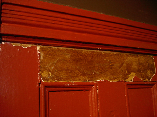 Original Oak Painted Finish