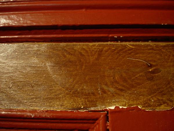 Trompe l'oeil Oak Finish on Pine