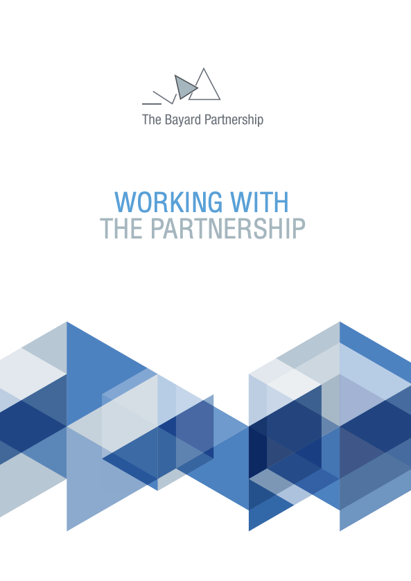"Download brochure ""Working with the Partnership"""