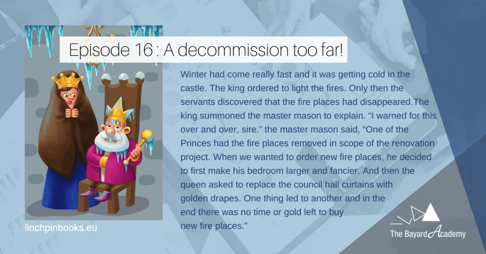 Mini Story The Castle - A decommission too far
