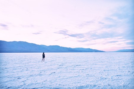 Badwater Basin, Death Valley, California Salt Flats