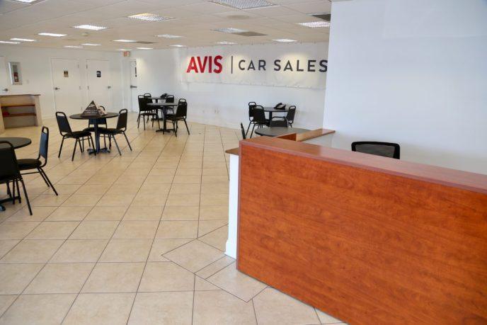 Avis Lobby Area Project