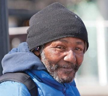 Older man homeless