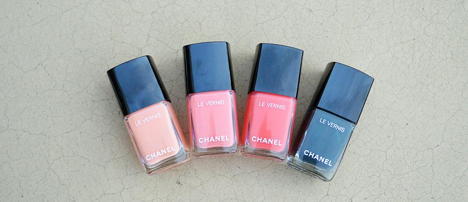 Chanel Cruise 2017 Nail Polish Collection Summer