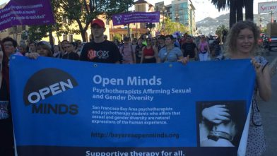 Open Minds at 2016 Trans March