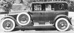A 1923 Don Lee Cadillac Type 61 Touring Sedan, of the type built by Lee's own coach and bodyworks factory in Los Angeles