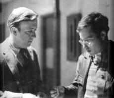 "McGovern with Richard Dreyfuss in ""American Graffiti"" (1973)"