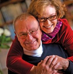 Jim Lange and Nancy Fleming (Photo)
