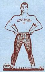KEWB Boss Radio Logo (1965)