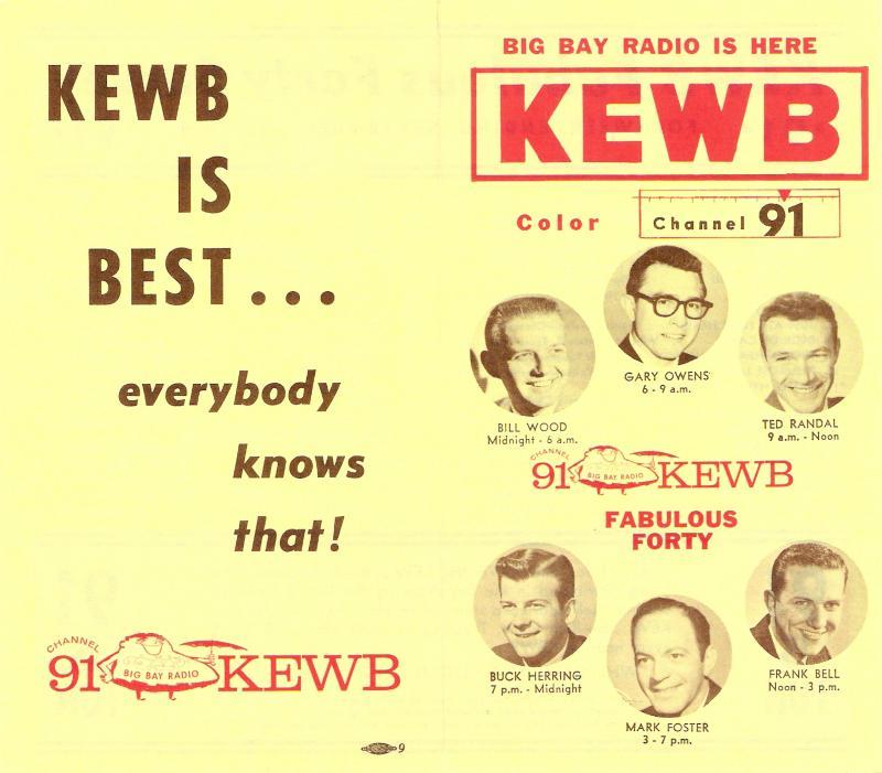 KEWB Music Survey 1959 (Image)